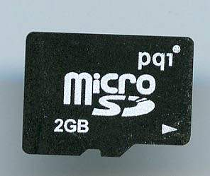 [メ]pqi/microSDカード/BMRSD-2G/2GB