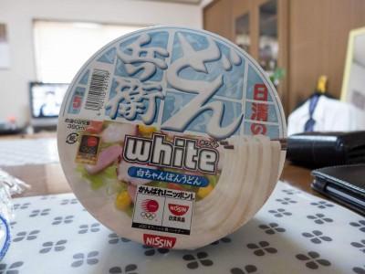 {食}日清食品・日清のどん兵衛 white 白ちゃんぽんうどん