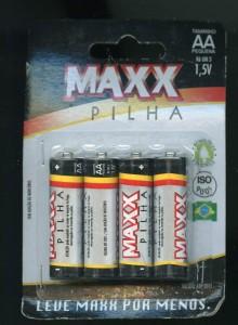 [メ]MAXX PILHA/単3乾電池